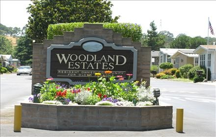 Photo - Woodland Estates Entrance Sign